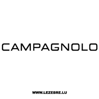 Campagnolo Logo Decal 2
