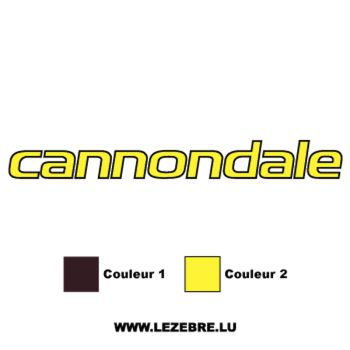Cannondale Logo Decal