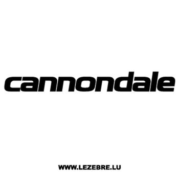 Cannondale Logo Decal 2
