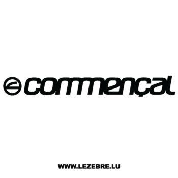 Sticker Commençal Logo