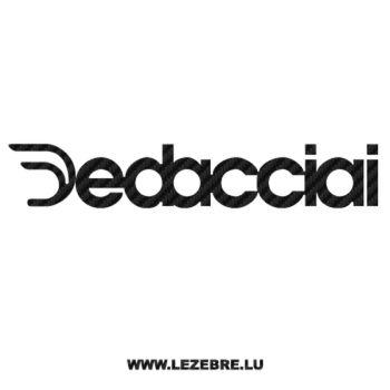 Dedacciai Logo Carbon Decal 2