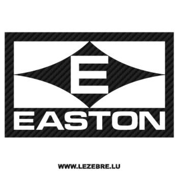 Easton Logo Carbon Decal 3
