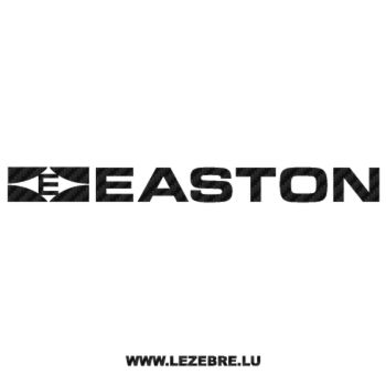 Easton Logo Carbon Decal 4