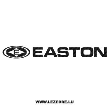 Easton Logo Carbon Decal 5
