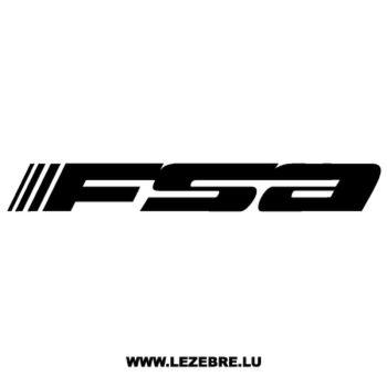 Sticker FSA Logo