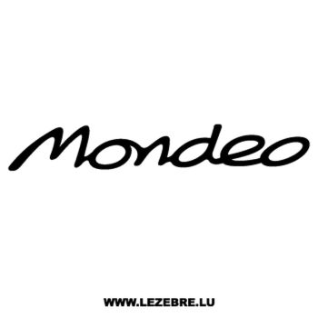 Sticker Ford Mondeo