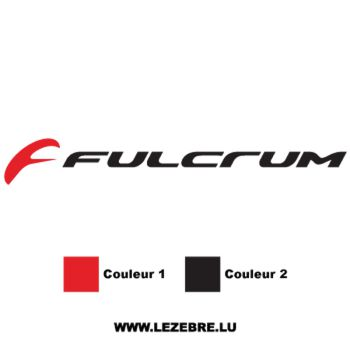 Fulcrum Logo Decal