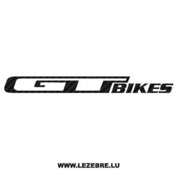 GT Bikes Carbon Decal