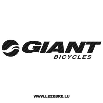 Giant Bicycles Logo Carbon Decal