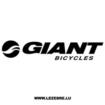 Giant Bicycles Logo Decal
