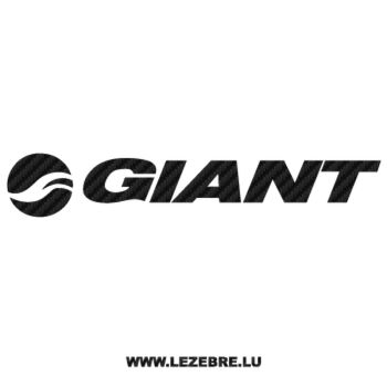 Giant Bicycles Logo Carbon Decal 2