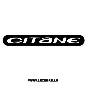 Sticker Gitane Logo