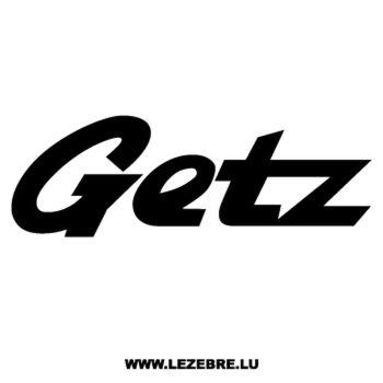 Sticker Hyundai Getz