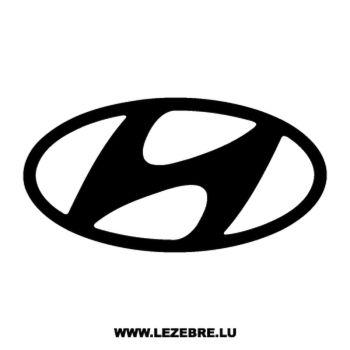 Hyundai Logo Decal 2
