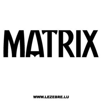 Sticker Hyundai Matrix