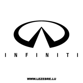 Infiniti Logo Decal