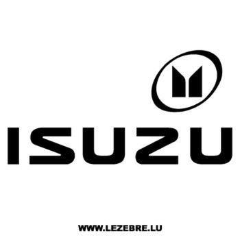 Isuzu Logo Decal