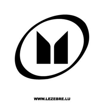 Isuzu Logo Decal 2