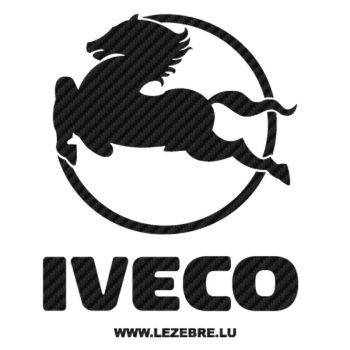 Iveco Logo Carbon Decal