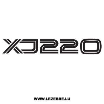 Sticker Jaguar XJ 220