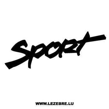 Sticker Jeep Sport