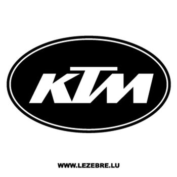 Sticker KTM Logo 2