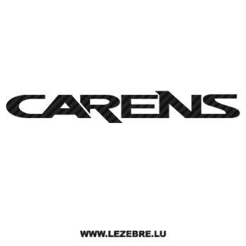 Sticker Carbone Kia Carens