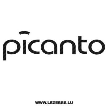 Sticker Carbone Kia Picanto