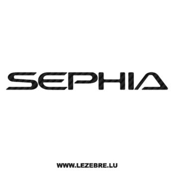 Sticker Carbone Kia Sephia