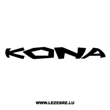 Sticker Kona Logo 3