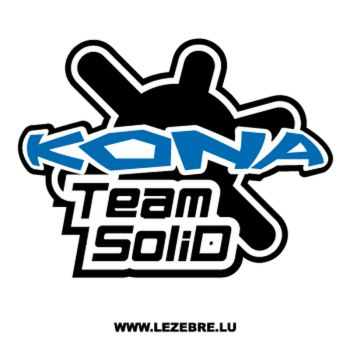Sticker Kona Logo Team Solid
