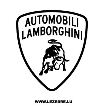 Lamborghini Automobili Decal