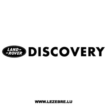 > Sticker Land Rover Discovery