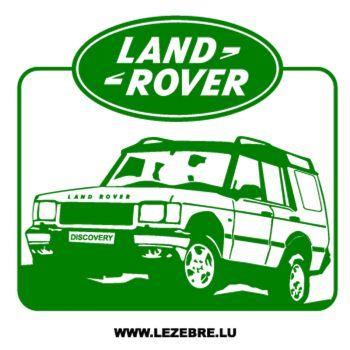Sticker Land Rover Jeep