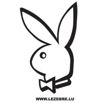 Playboy Playmates Bunny Decal