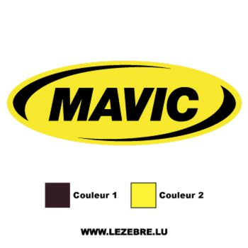 Mavic Logo Decal