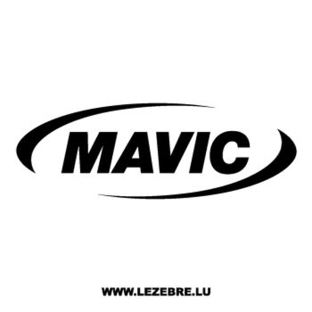Mavic Logo Decal 3