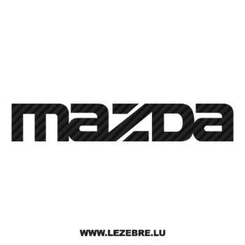 Mazda Carbon Decal