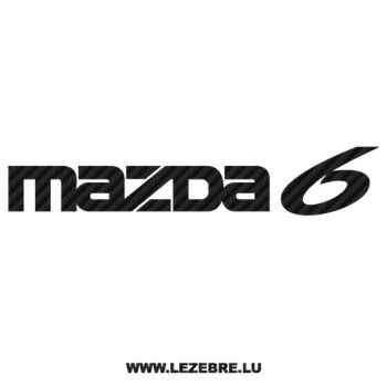 Mazda Carbon Decal 6
