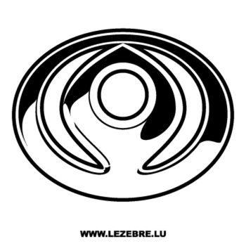 > Sticker Mazda Logo Ancien
