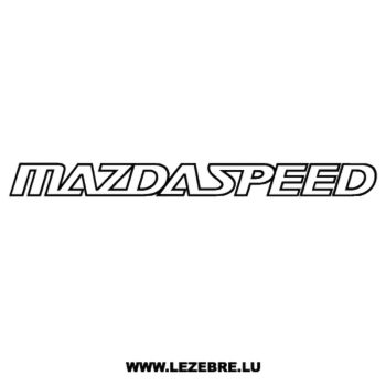 Mazda Speed Decal