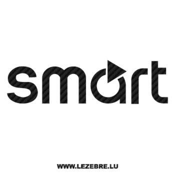 Sticker Carbone Mercedes Smart 2