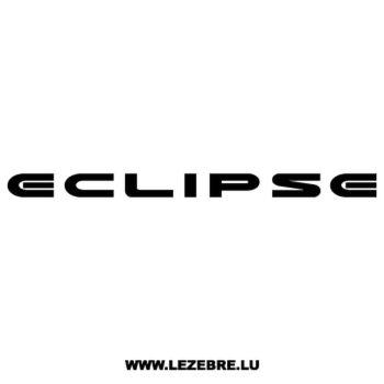 Mitsubishi Eclipse Decal
