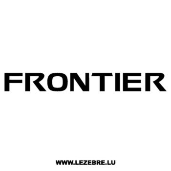 Nissan Frontier Decal