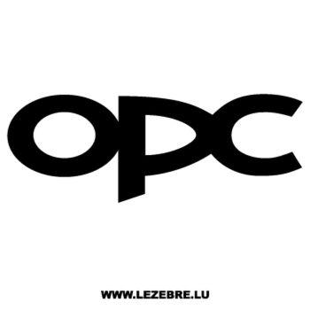 Opel OPC Decal