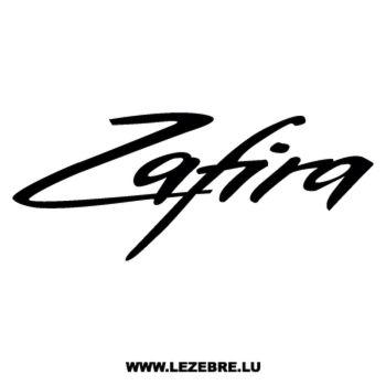 Opel Zafira Decal