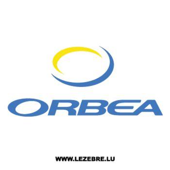 Sticker Orbea Logo