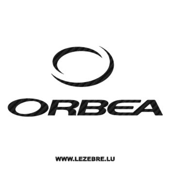 Sticker Carbone Orbea Logo 2