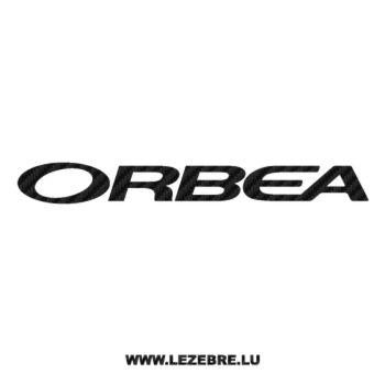 Sticker Carbone Orbea Logo 3