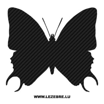Butterfly Carbon Decal 10